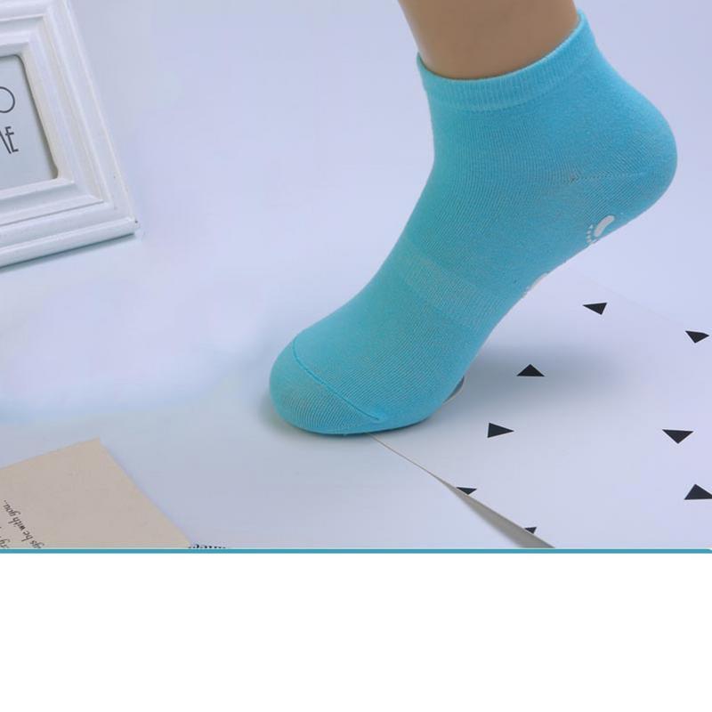 ①  7 Цветов Модели Для Взрослых 35-42 Ярдов Батут Йога Носки Нескользящие Внутренние Носки Оттона Дышащ ①