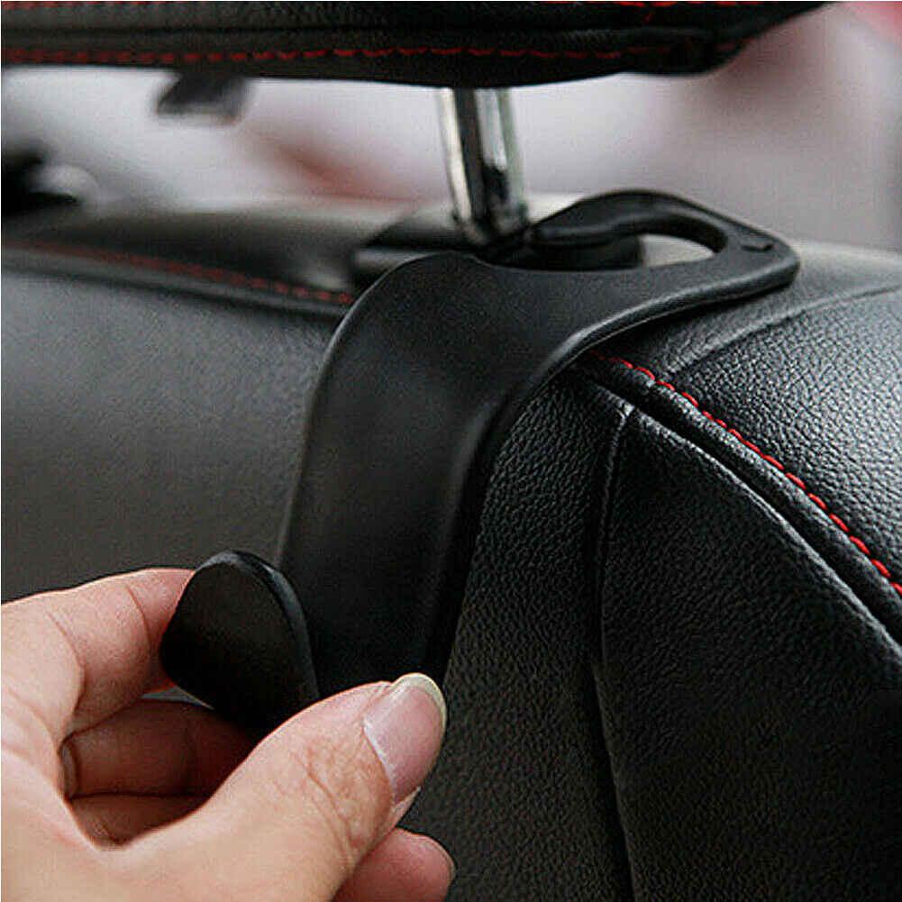 Na zagłówek samochodowy z uchwytem na telefon Seat powrót wieszak na torebkę torebka torebka na artykuły spożywcze przenośne wielofunkcyjne klipsy organizator