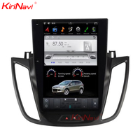 KiriNavi Vertical Screen Tesla Style 12.1 Inch android 6.0 Car Stereo For Ford Kuga Android Radio GPS Navigation 2013 2015