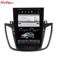 KiriNavi Vertical Screen Tesla Style 12.1 Inch android 6.0 Car Stereo For Ford Kuga Android Radio GPS Navigation 2013 2015