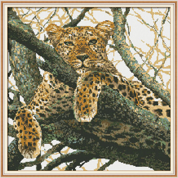 The cheetah Diamond Embroidery Full Display Diamond Mosaic Diamond Painting Diamond Embroidery Animal Cross Stitch Home Decor фото