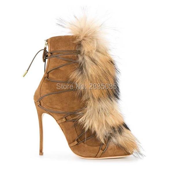 Cremallera Tacones Lujo Diseñadores As Espalda Piel Punta Invierno Mujer Qianruiti Cruzada Botas as Pic Zapatos Puntiaguda De Stiletto Pic BgxEwWvqW7