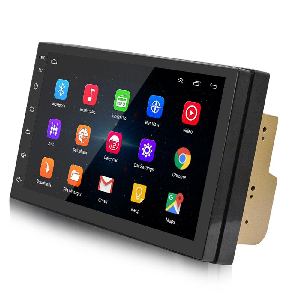 Android 7 pouces lecteur de voiture Bluetooth 4.0 stéréo Radio voiture GPS navigateur une Machine 1018