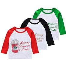 цена на Autumn Spring Baby Girl Boys T-Shirts Cartoon Milk Cup Long Sleeve T Shirts Letter Tops Tee Kid Toddler Children's Clothing 2019