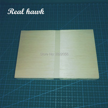 AAA+ Balsa Wood Sheets 150x100x2.5mm Model for DIY RC model wooden plane boat material