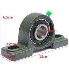 Прочный UCP204 NP20 микро 20 мм Диаметр отверстия цинковый сплав Подушка блок установлен шарикоподшипник UCP204 для силовой трансмиссии запчасти