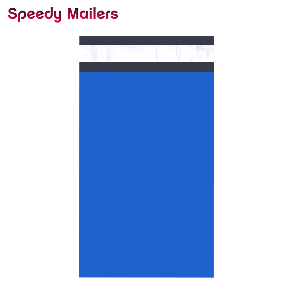 Speedy Mailers 100PCS 150*230mm 6x9'' Blue Poly Mailer Colorful Poly Mailer Self Seal Plastic Mailing Envelope Bags