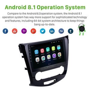 Image 2 - Seicane 10.1 Cal 2Din Android 8.1 Radio samochodowe do 2016 Nissan Qashqai nawigacja GPS z Bluetooth Audio Multimedia odtwarzacz jednostka główna