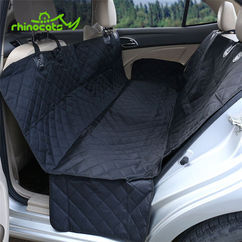 Pet Dog Car Seat Covers for Back Seat of Cars Trucks SUV Luxury Dog Protectors Car