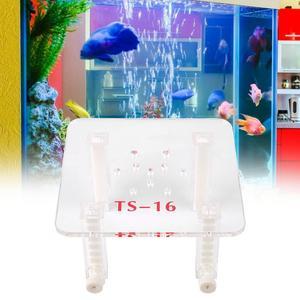 Image 2 - قابل للتعديل البلاستيك دعم فلتر حوض سمك السمك البيض مقسم مع جداول للأسماك البروتين مقشدة حوض السمك