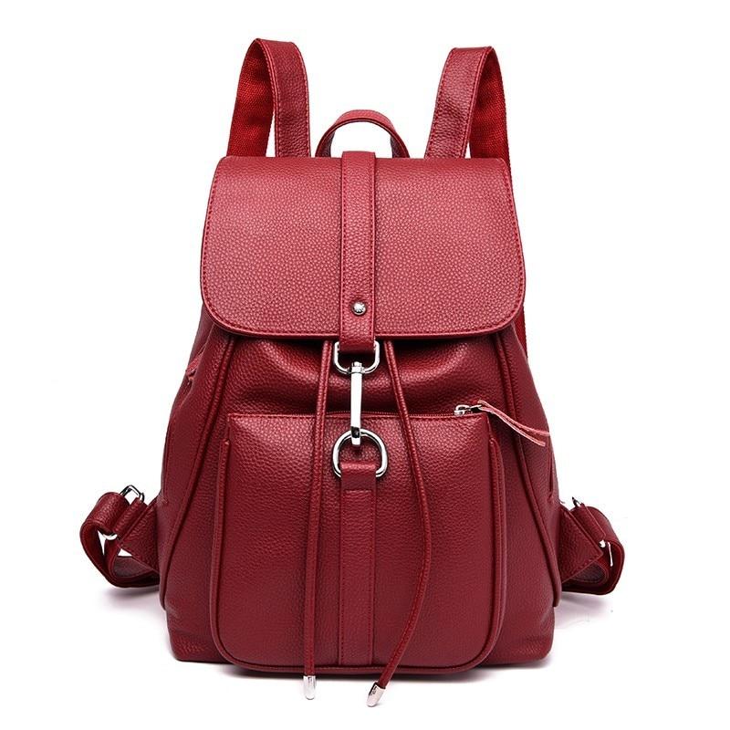 2019 Luxury Backpacks Women Designer Female Back Pack Vintage Bagpack Large Capacity Travel Shoulder Bag Backpack For Girls New