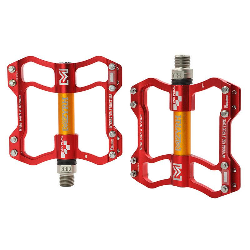 Une Variété De Styles VTT Ultra Léger Creux Montagne de la Pédale Vélo Pédale Vélo Pédale En Aluminium Surface Lisse Et Pas Facile à S'estomper - 5