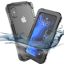 Waterproof Case For iPhone Xs Max/Xr Outdoor sports 360 Degree waterproof mobile phone case Xr/Xs Max