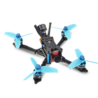 HGLRC Arrow3 152mm 3 Inch F4 OSD 4S / 6S Mini FPV Racing Drone PNP BNF with 45A ESC Caddx Ratel 1200TVL Camera RC Quadcopter