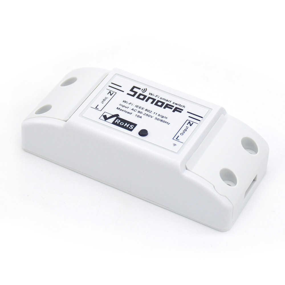 2/3/4/5/6/8/10 Sonoff bezprzewodowy włącznik WIFI uniwersalny inteligentny moduł automatyki inteligentnego domu zegar Diy inteligentny pilot zdalnego sterowania