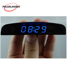 3 In 1 Four display modes Car Electronic Clock Interior Temp