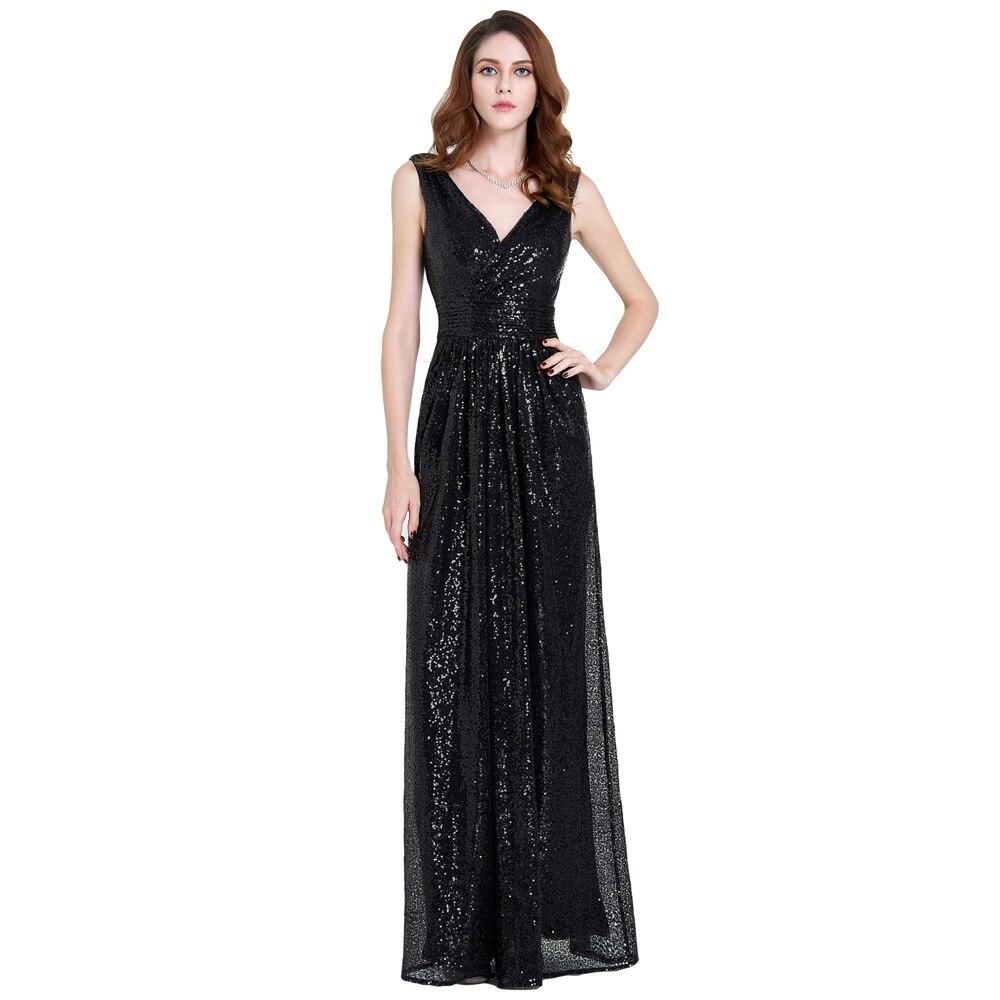 Kate Kasin Sequin Maxi robe femmes mode Sexy Vintage paillettes longue robe élégante femme fête Club robes Vestidos grande taille