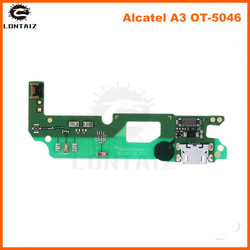 Port USB do ładowania płyta z taśmą do Alcatel A3 OT-5046D OT-5046Y) ładowarka złącze portu do naprawy części