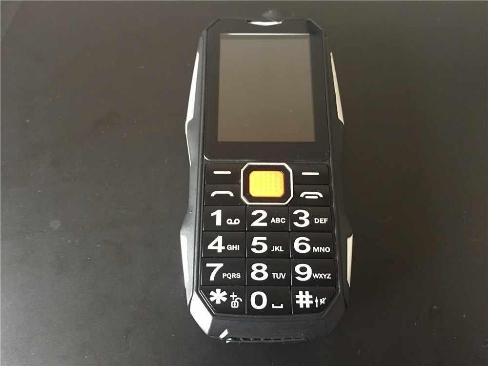 2018 חדש S9 כוח בנק טלפון עמיד הלם רמקול חזק פנס Bluetooth מצלמה MP3 FM Dual SIM 2.4 אינץ טלפון סלולרי