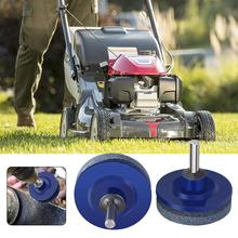 50MM Faster Blade Sharpener Lawn Mower Universal Grinding Rotary Drill Cuts Lawnmower