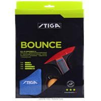 Original stiga 3 stars finished table tennis racket bounce control and loop also fast attack with loop ping pong game