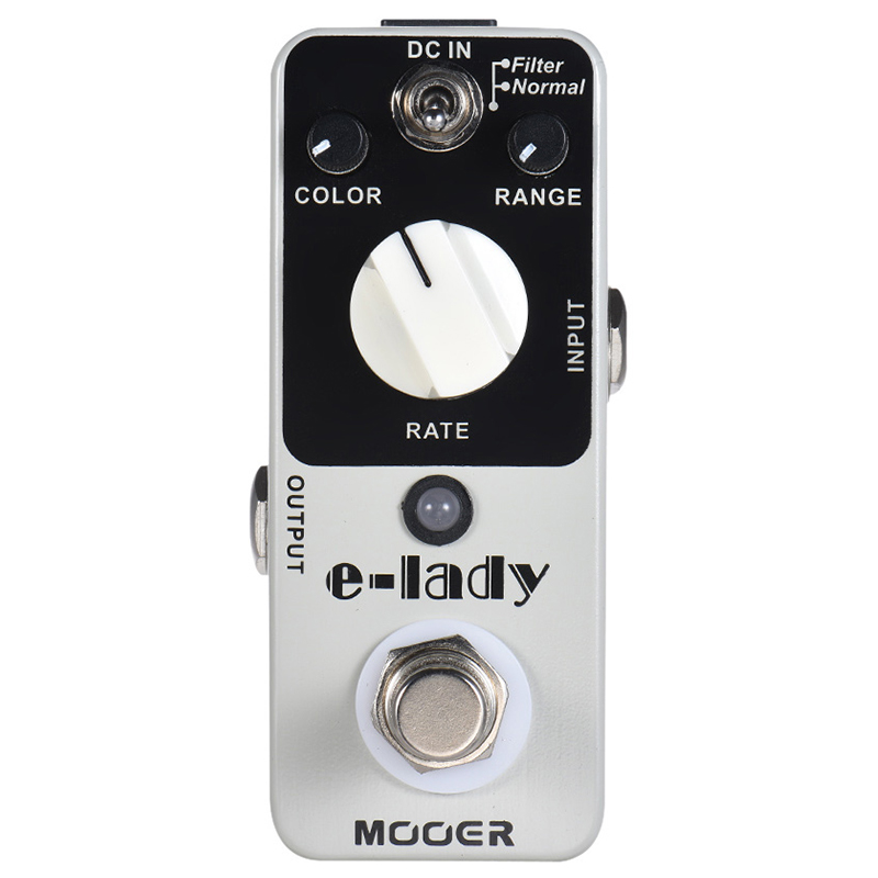 SEWS-MOOER Guitar Pedal E-Lady Analog Flanger Guitar Effect Pedal 2 Modes True Bypass Full Metal Shell Guitar Parts and AccessSEWS-MOOER Guitar Pedal E-Lady Analog Flanger Guitar Effect Pedal 2 Modes True Bypass Full Metal Shell Guitar Parts and Access
