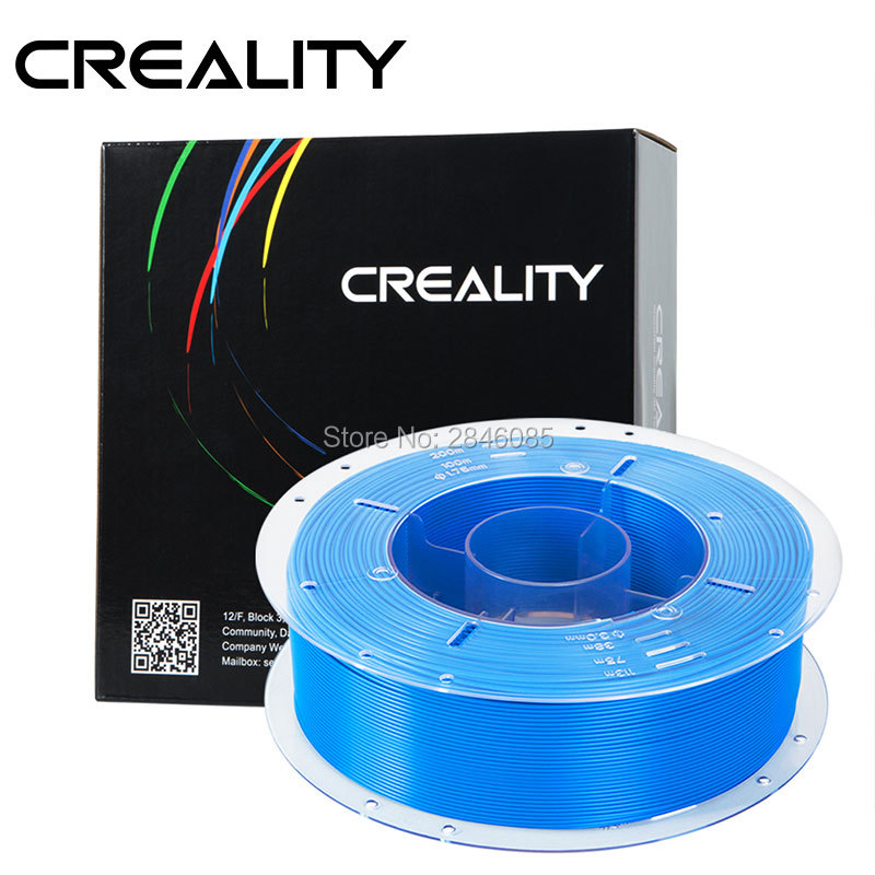 CREALITY 3D High Quality Blue Color Filament PLA 1.75mm for 3D Printing Pen and 3D PrinterCREALITY 3D High Quality Blue Color Filament PLA 1.75mm for 3D Printing Pen and 3D Printer
