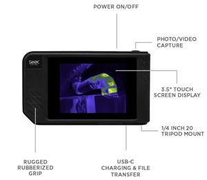 Image 4 - Seek Thermal SHOT / SHOT PRO Imaging Camera infrared imager Night Vision photos/video/Large Touch Screen/206x156 or 320x240/Wifi