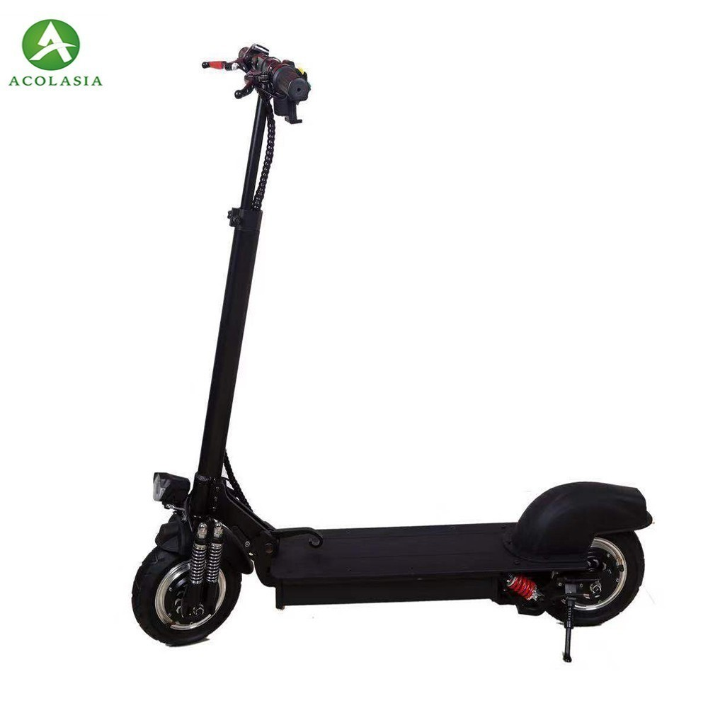 Oil brake double drive off-road electric scooter 10 inch explosion-proof tire adult folding travel mini lithium battery carOil brake double drive off-road electric scooter 10 inch explosion-proof tire adult folding travel mini lithium battery car