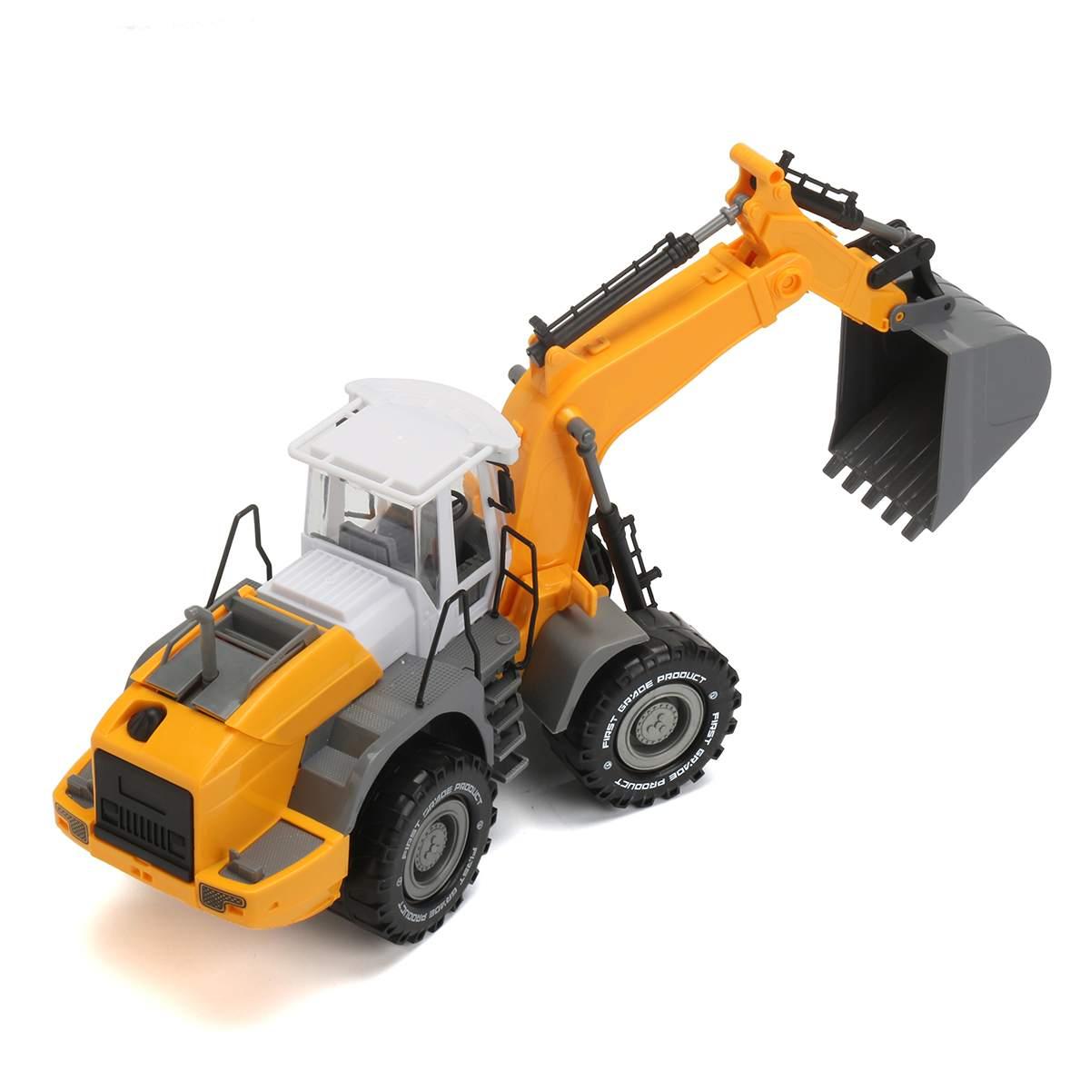 1:22 Abs Graafmachine Wals Model Bouw Speelgoed Techniek Graven Diecast Auto Geschenken Kids Kinderen Educatief Speelgoed Online Korting