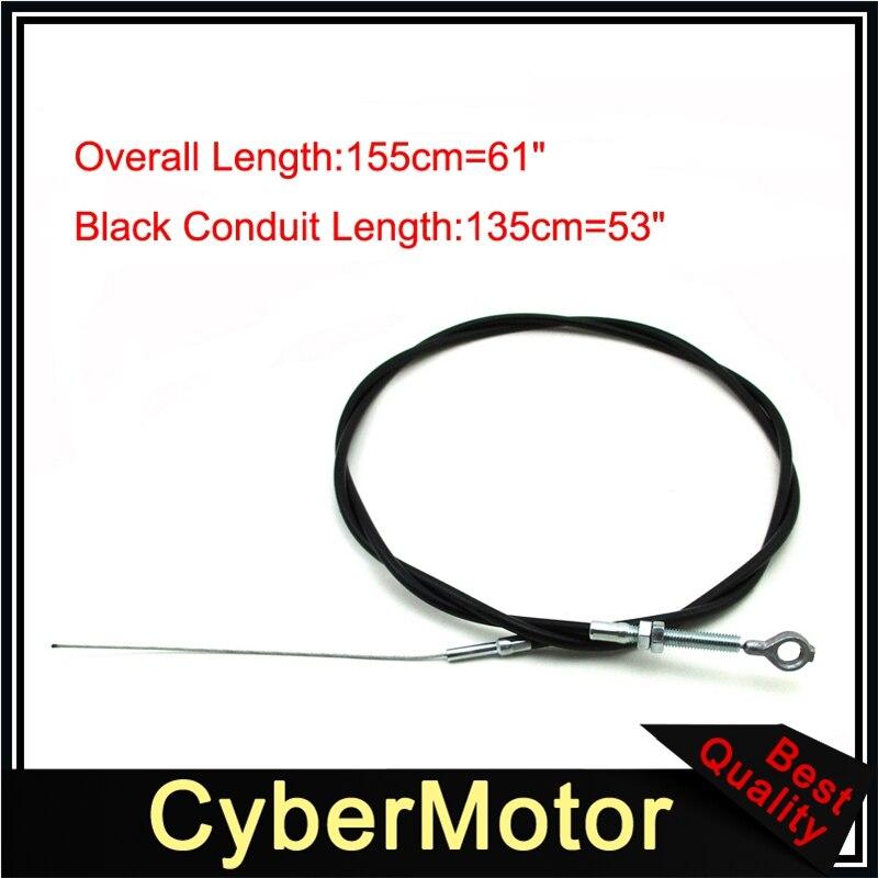 "Go Kart Throttle Cable 61/"" For Manco 8252 ASW Buggy ATV Quads"