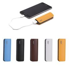 WST 2600mah Mini Power Bank Portable Charging Battery External Batteries for Samsung iPhone Mobile Powerbank Batteries Charger cheap Emergency Portable 0-3000mAh Li-polymer Battery Single USB USB Type C 5V 1A ARUN Black Blue White Yellow Brown Polymer Lithium ion Battery