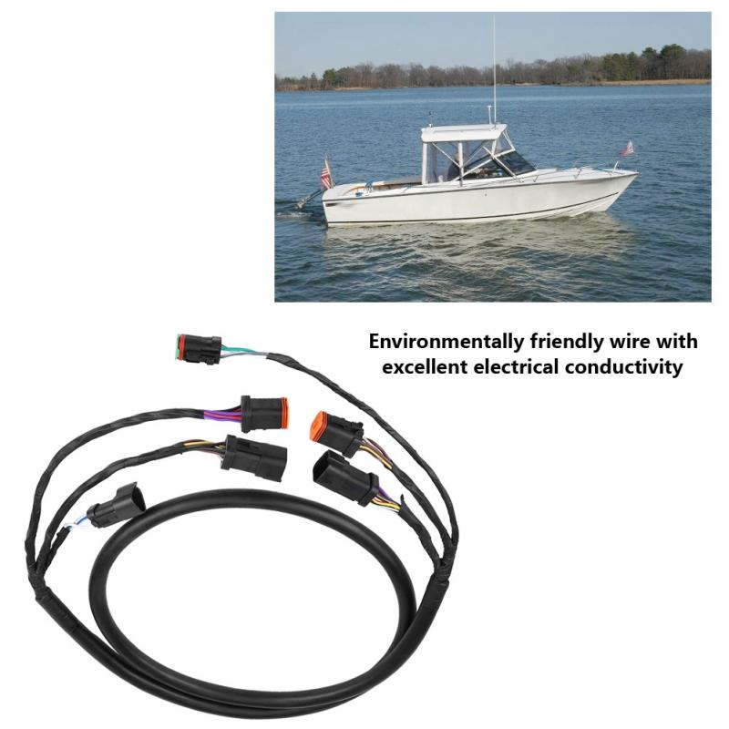 US $50.63 19% OFF|Motor Cable Wiring Harness for OMC Johnson Evinrude on