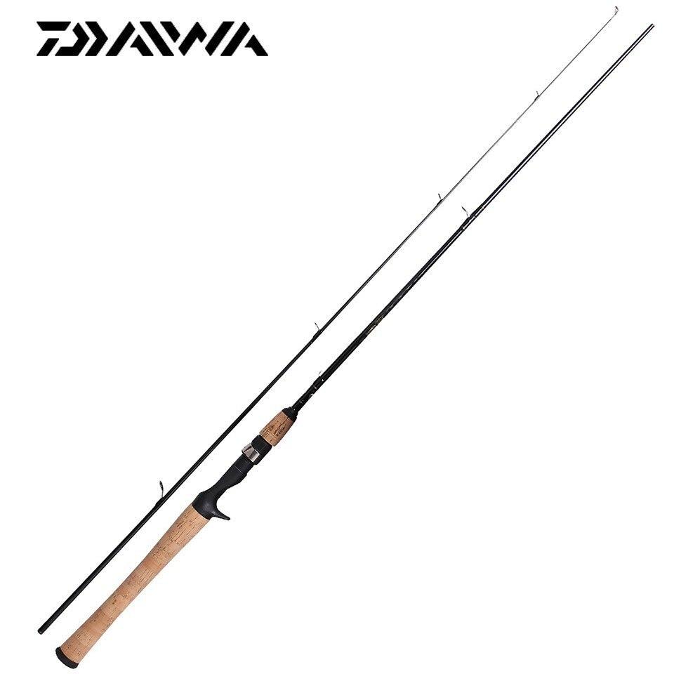 Le plus nouveau Original DAIWA CROSSFIRE 1.83 M 1.98 M 2.13 M filature coulée canne à pêche Action rapide M MH puissance Guides d'oxyde d'aluminium