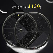 1130g только 700C комплект колес для дорожного велосипеда из углеродного волокна, трубчатые колеса или клинчерные прямые тяговые втулки и спицы 4,3g для Clmbing
