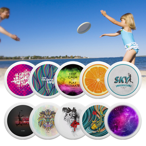 10.7 Inch 175g Plastic Flying Discs Outdoor Play Toy Sport Disc Professional Ultimate Flying Disc Beach Entertainment