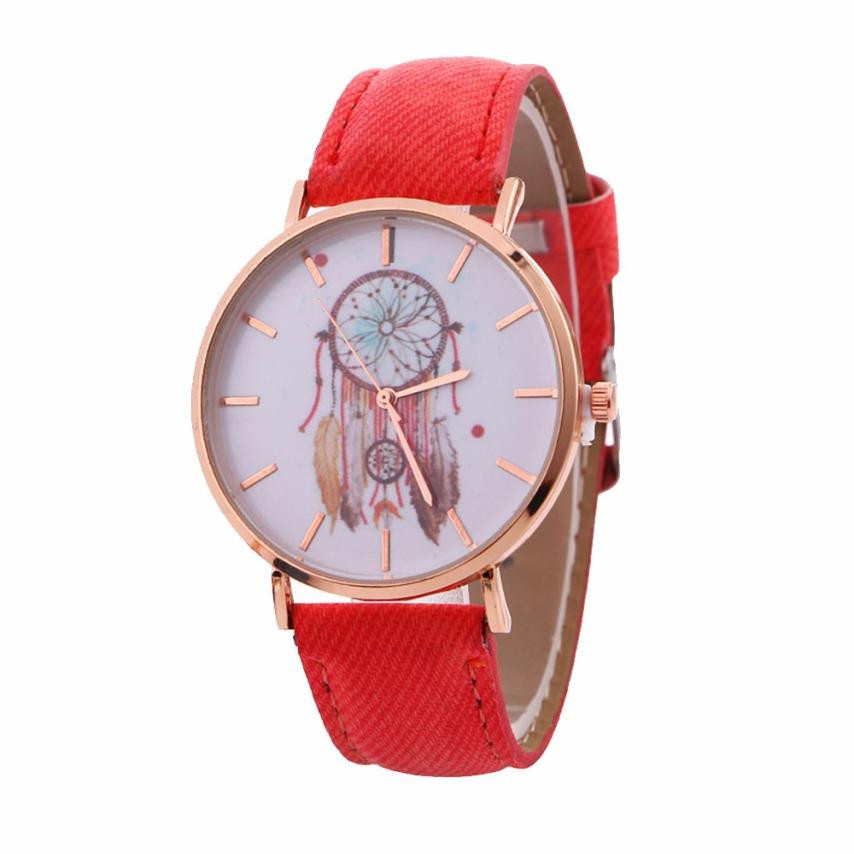NEW Dreamcatcher Watch Women Retro Cowboy Leather Quartz Wrist Watches Women's Casual Sports Clock Watch Relogio Feminino #LH 6