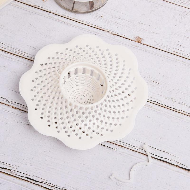 Floor Drain Cover Hair Dish Leaf Debris Filter Bathroom Kitchen Bathroom Vanity Ultra-thin Floor Drain Plug Bathroom Floor Drain