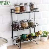 Nordic Home Kitchen Tableware Storage Rack Bathroom Balcony Metal Organize Shelf Plate Bowl Tray Dish Drain Holder Flower Stand