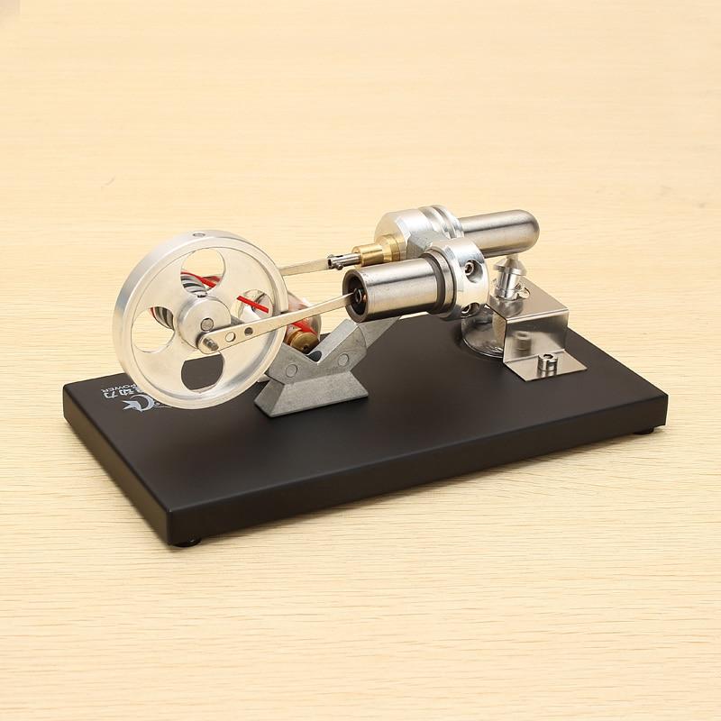 180x90x85mm métal Stirling moteur modèle moteur modèle Kit enfants éducatifs sciences physiques cours jouet amusant cadeau