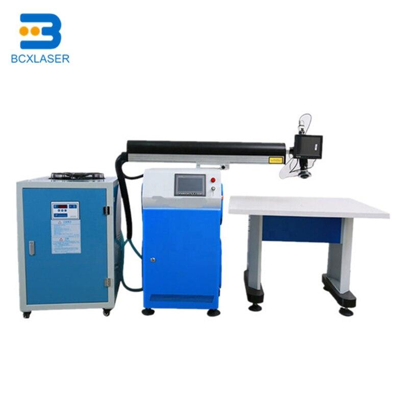 Matériaux fonctionnels lettres en acier inoxydable et acrylique conduit canal lettre laser soudage machine prix
