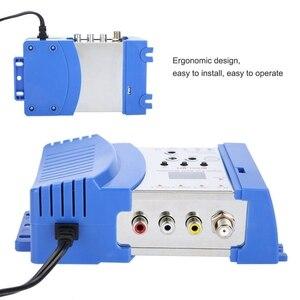 Image 5 - Kỹ Thuật Số chuyên nghiệp VHF UHF RF Bộ Điều Chế AV Để RF Avto TV Converter Bộ Chuyển Đổi