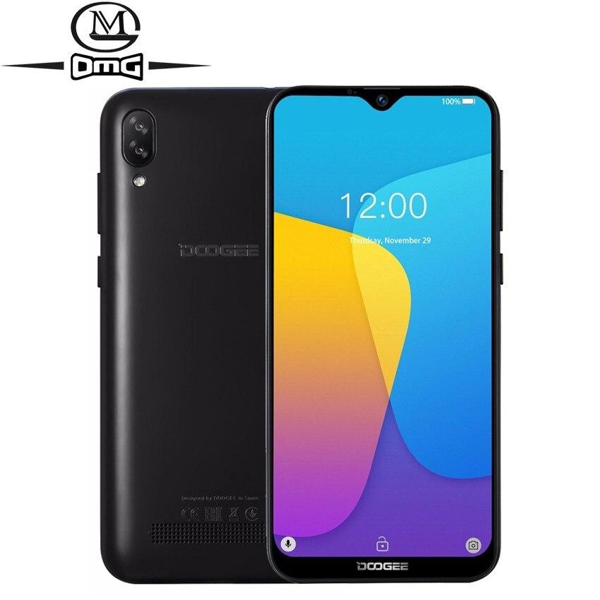 DOOGEE Y8c Smartphone Android 8.1 6.1 pouces 19:9 Waterdrop LTPS écran Quad-Core téléphone mobile 1GB + 16GB 3400mAh 8MP téléphones portables