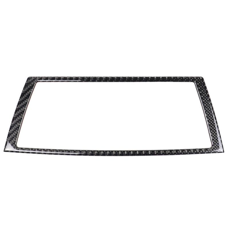 For Bmw E70 E71 X5 X6 Carbon Fiber Car Interior Navigation