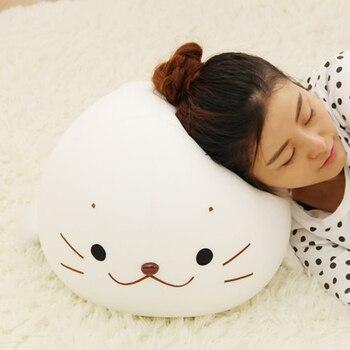Супер мягкая мягкое плюшевое уплотнение кукла морские львы плюшевые игрушки подушка для объятий детские игрушки прекрасная девушка лучшие...