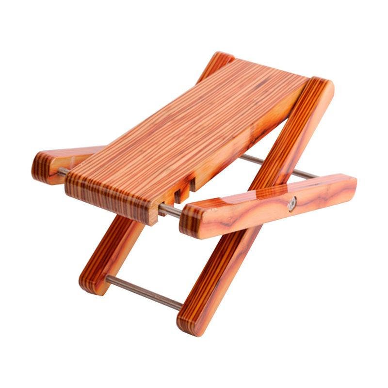 bamboo wood guitar foot rest stool stand foldable acoustic classic guitar pedal footboard with 3. Black Bedroom Furniture Sets. Home Design Ideas