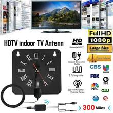 aneng indoor digital tv antenna signal amplifier booster hdtv atsc