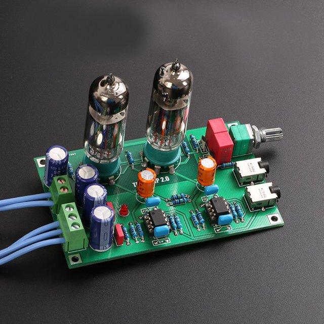 Klasse A 6J5 Vakuum Tube Preamp Vorverstärker HIFI Kopfhörer Verstärker DIY Kits