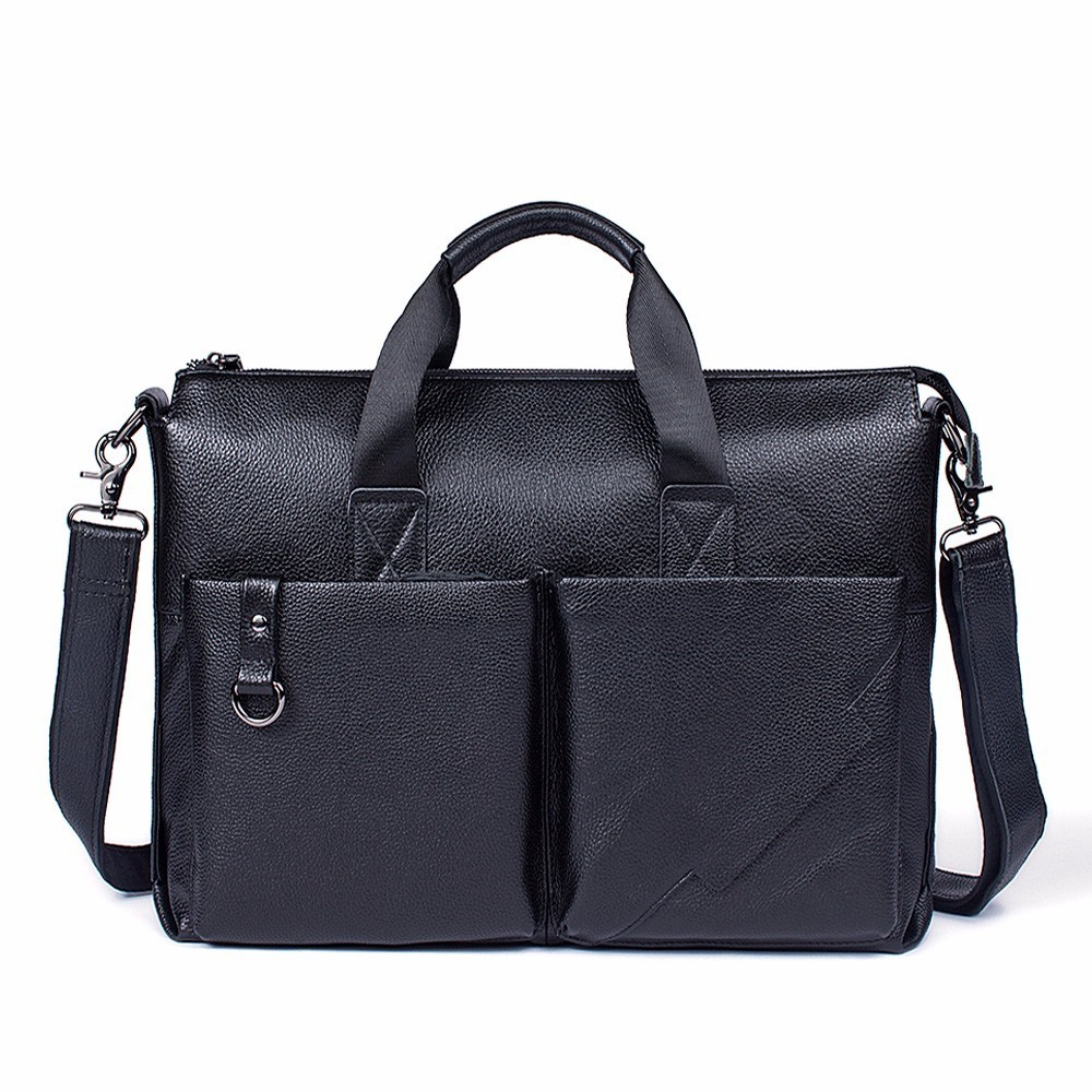 Fashion Men Briefcases Genuine Leather Handbag For Man Vintage Laptop Briefcase Messenger Shoulder Bags Mens Crossbody BagFashion Men Briefcases Genuine Leather Handbag For Man Vintage Laptop Briefcase Messenger Shoulder Bags Mens Crossbody Bag