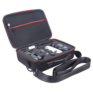 Image 2 - 2018 NEW Portable Drone Case EVA Hard Shell Shoulder Bag Storage Bags Handle Box For DJI Spark Drone Accessories